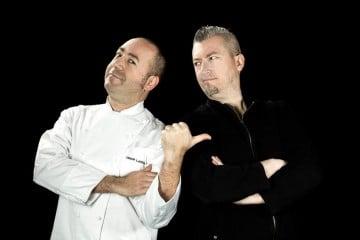 Omar Lapecia Bis e Gian Paolo Serna chef e fotografo il fiore della salute